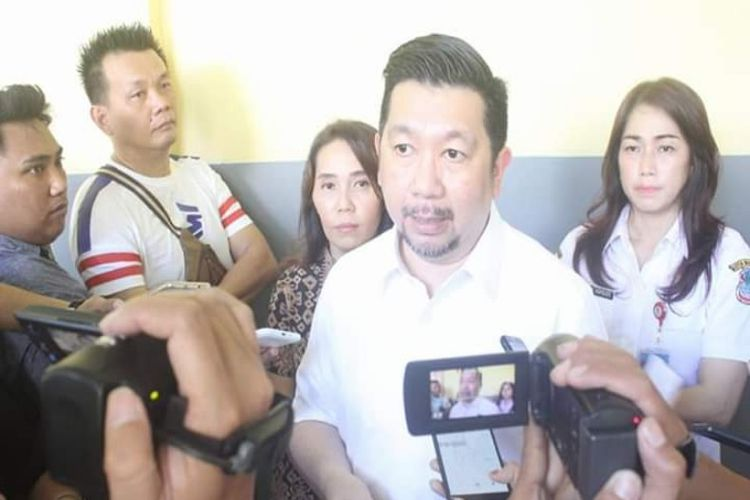 Wakil Wali Kota Manado Mor Bastiaan pada Kamis (10/01/2019)
