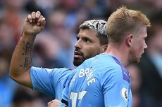 Manchester City Vs Brighton, The Citizens Menang, Aguero Samai Dzeko