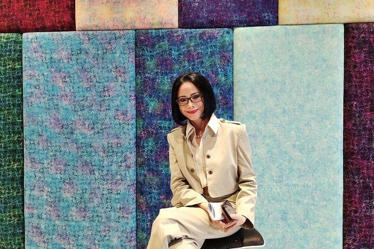 Ketua Umum Asosiasi Perancang dan Pengusaha Mode Indonesia (APPMI) sekaligus Presiden Indonesia Fashion Week Poppy Dharsono.