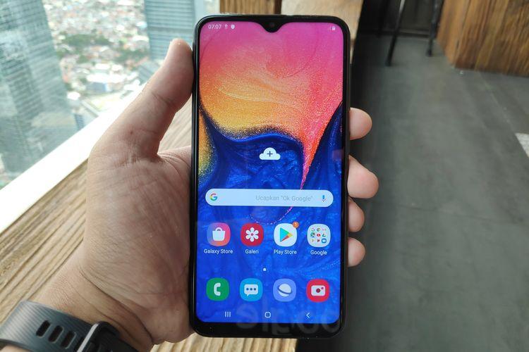 Samsung Galaxy A10 Khusus Hari Ini Dijual Rp 1 75 Juta