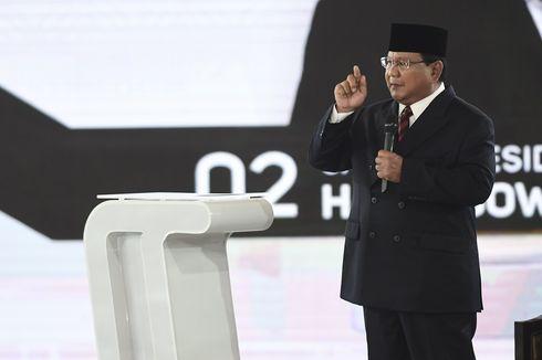 Prabowo: Pertahanan Kita Sangat Lemah karena Tidak Punya Uang