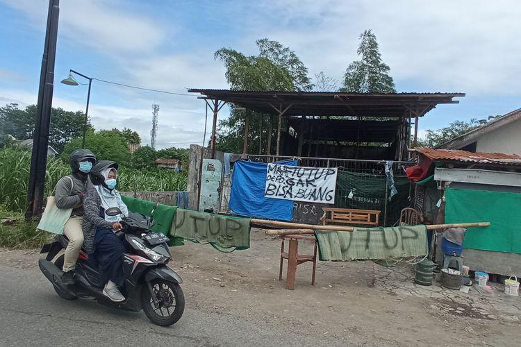 Depo sampah di sekitar Bugisan memilih untuk tutup senin (21/12/2020)