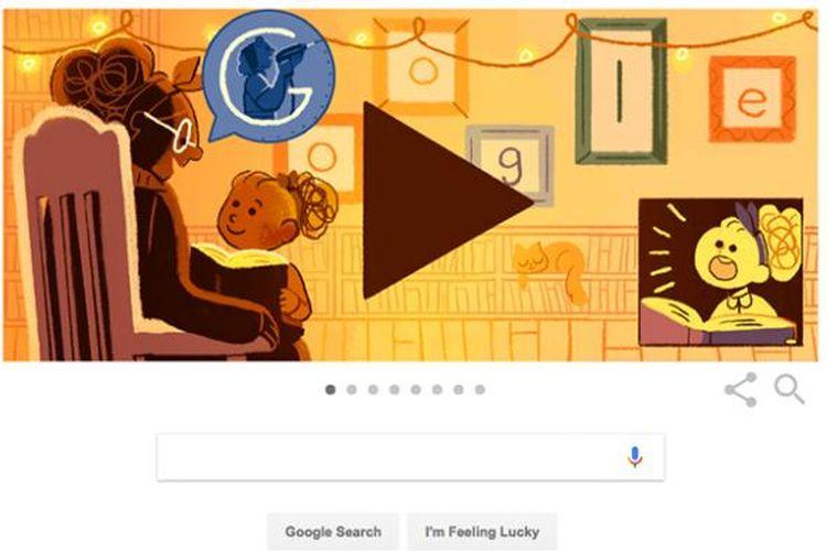 Doodle Google di Hari Perempuan Internasional menampilkan sejumlah tokoh dari berbagai bidang.