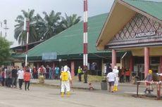 136 TKI dari Malaysia Tiba di Lanud Soewondo Medan, Dikarantina 3 - 4 Hari