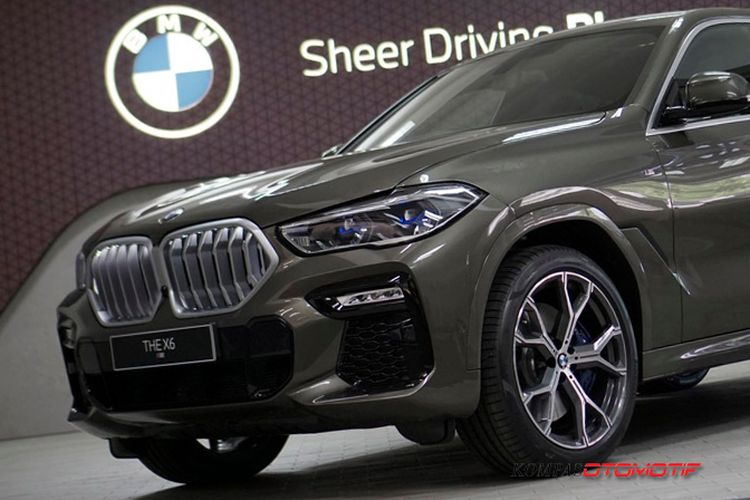 All New BMW X6 meluncur di Indonesia