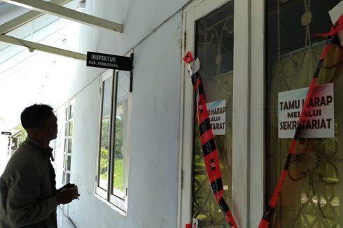 KPK Segel Kantor Kejari dan Inspektorat Pamekasan Madura