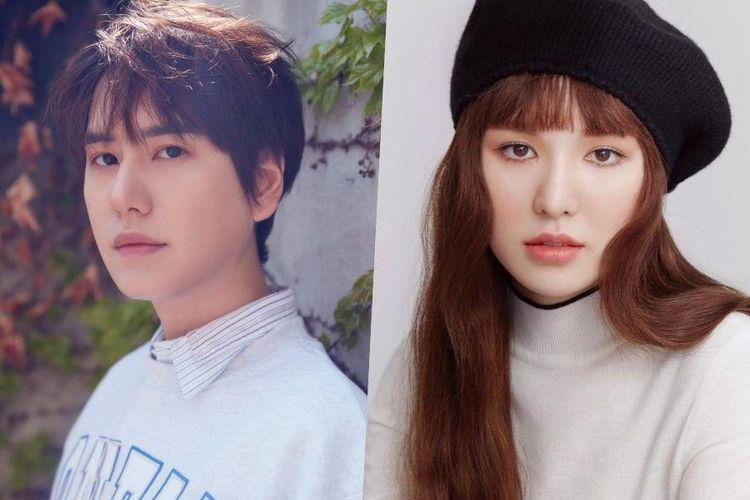 Kyuhyun Super Junior (kiri) dan Wendy Red Velvet