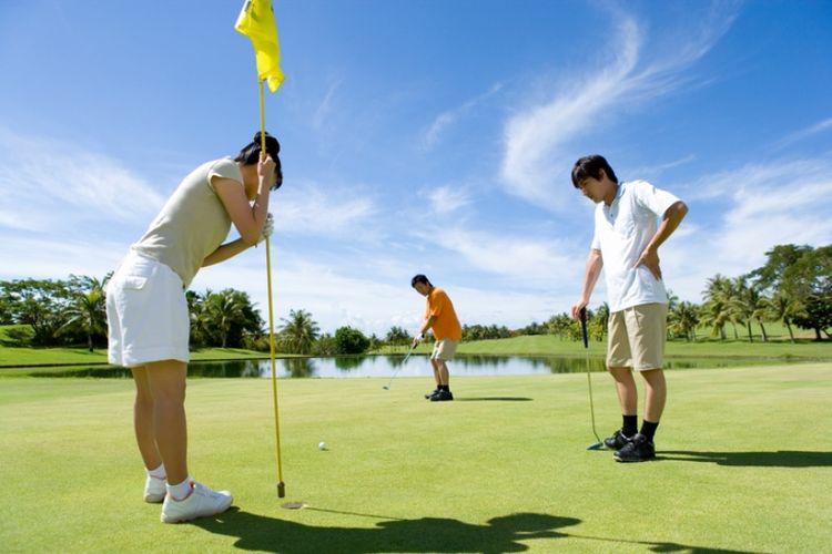 Cara Konsisten Bermain Golf