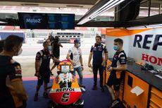 Marc Marquez Datang ke Paddock Repsol Honda Jelang GP Catalunya