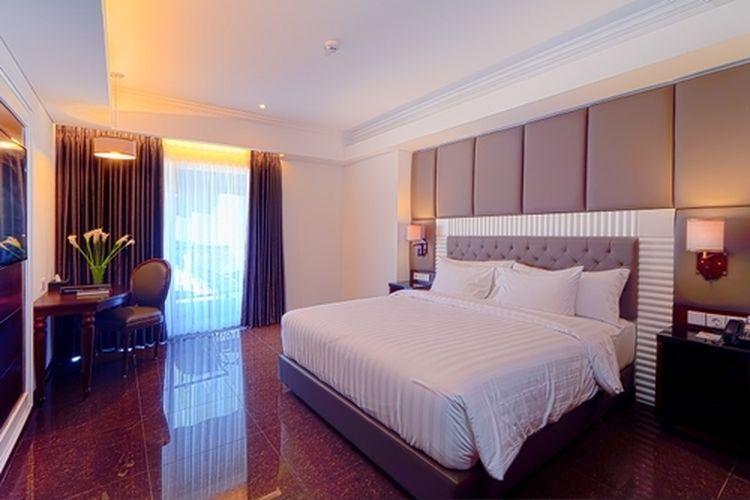 Ilustrasi hotel syariah - Tipe kamar Junior Suite di hotel Grand Dafam Rohan Jogja.