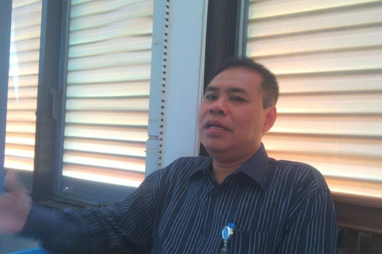 Koordinator Divisi Hukum, Data dan Informasi Bawaslu Kota Surakarta Agus Sulistyo di Solo, Jawa Tengah.