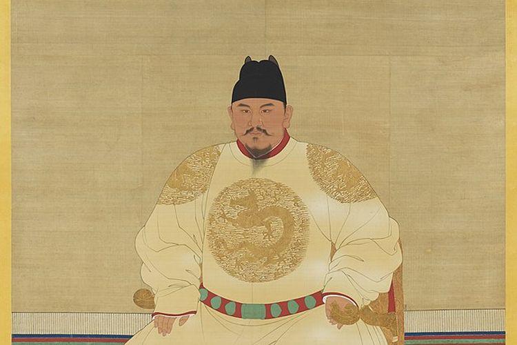 Kaisar Hongwu, pendiri dan kaisar pertama Dinasti Ming.
