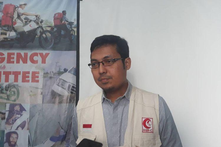 Ketua Divisi Relawan Medical Emergency Rescue Comittee (MER-C) Hadiki Habib di kantor MER-C, Jakarta Pusat, Jumat (6/3/2020).