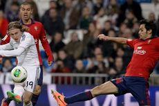 Berkat Tandukan Benzema, Madrid Ungguli Osasuna