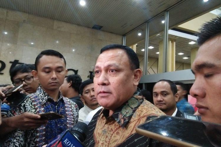 Ketua KPK Firli Bahuri di Kompleks Parlemen, Senayan, Jakarta, Senin (24/2/2020).