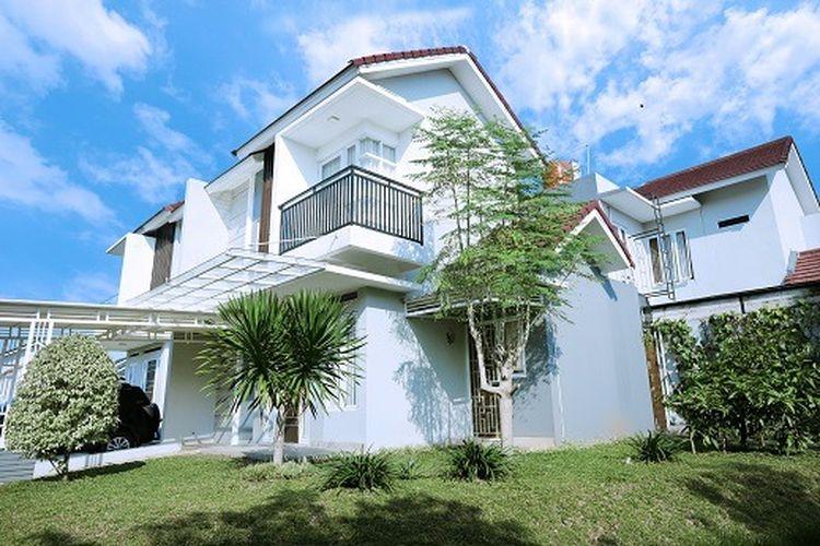 Contoh rumah di Samira Residence, Sentul, Bogor, Jawa Barat.
