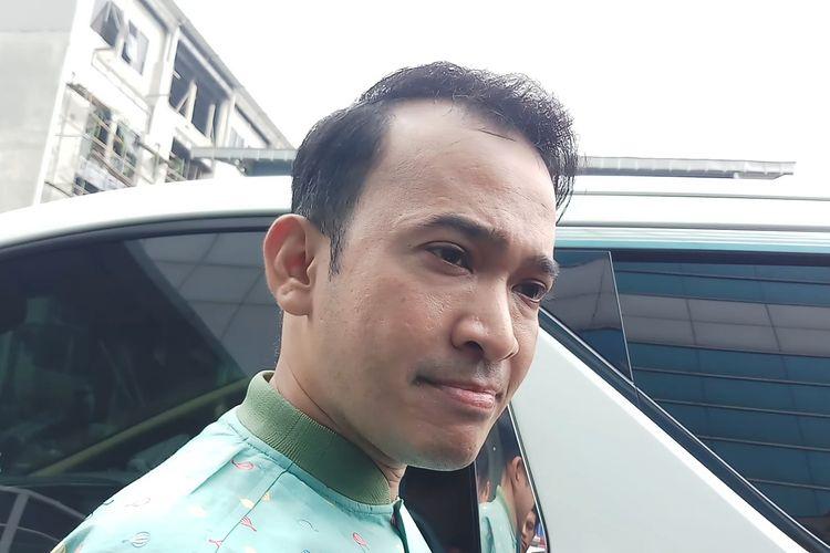Pembawa acara Ruben Onsu saat ditemui di kawasan Tendean, Jakarta Selatan, Rabu (4/3/2020).