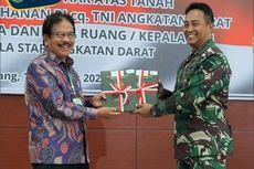 TNI AD Terima 9 Sertifikat Tanah Hak Pakai