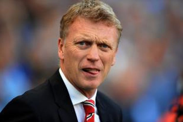 Pelatih Manchester United, David Moyes.