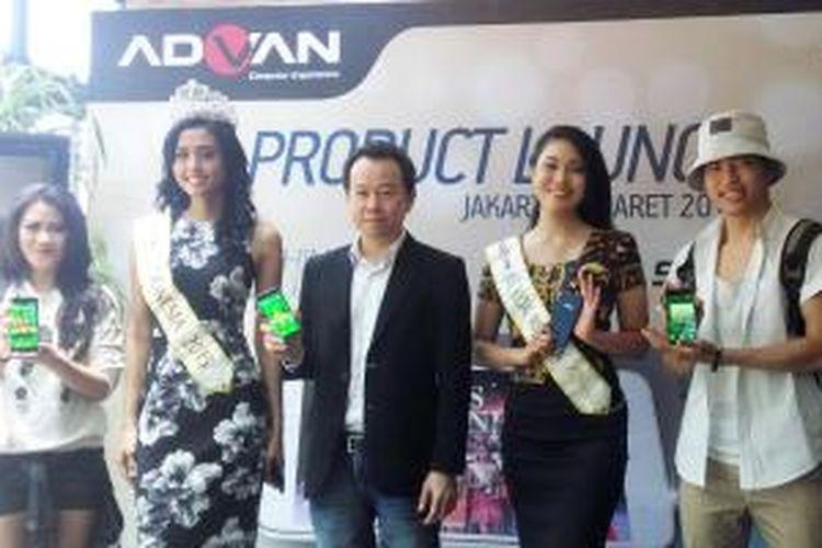 Jumpa pers peluncuran Advan S5J , Kamis (5/3/2015), di Locanda Cafe, Jakarta.