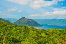 Gunung Taal Meletus, Danau ini Nyaris Menghilang Setelah Erupsi