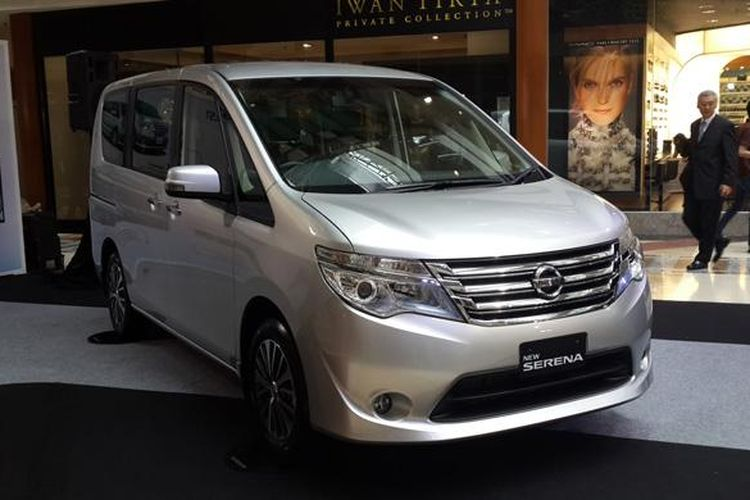New NIssan Serena type X, the cheapest version.