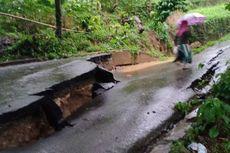 Bencana di Akhir Tahun, Jalan Amblas hingga Tiga Rumah Roboh Kena Angin Puting Beliung