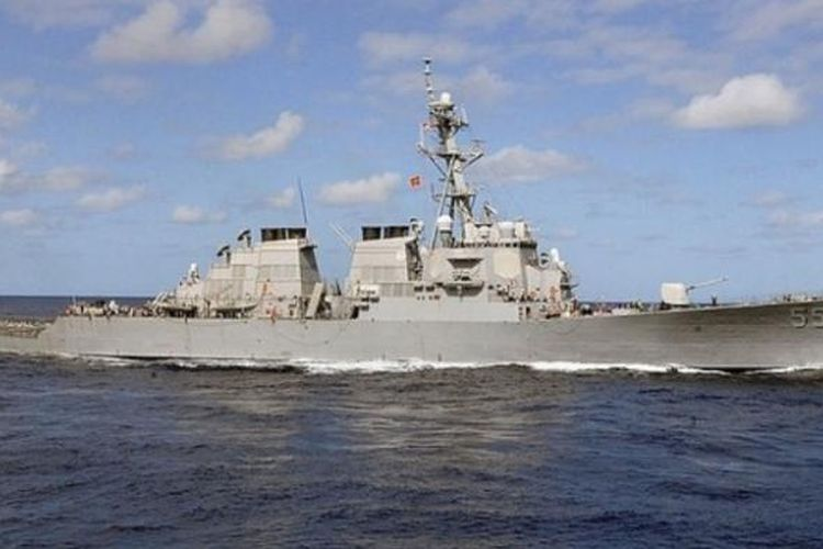 Kapal perusak AS, USS Stout.