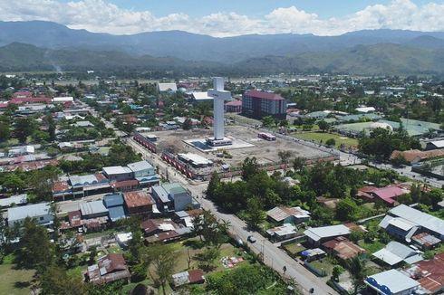 Kawasan Menara Salib, Ikon Wisata Baru di Wamena