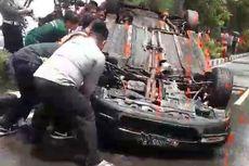 Viral Mobil Dirusak dan Dibakar Massa di Surabaya, Penyebabnya karena Tabrak Lari