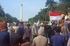 Meski Tak Tahu Namanya, Demonstran di Monas Tuntut Pimpinan Baru KPK Segera Dilantik