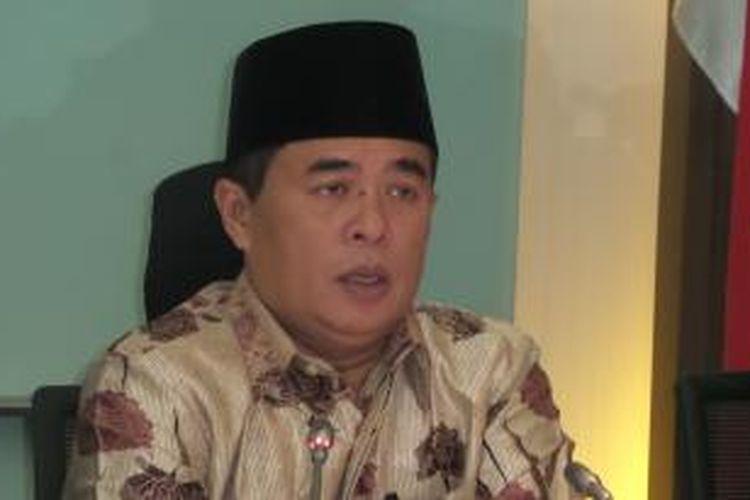 Ketua Fraksi Partai Golkar Ade Komarudin.