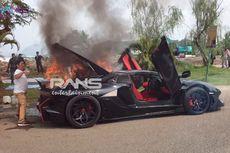 Cerita di Balik Terbakarnya Lamborghini Aventador Milik Raffi Ahmad, Tembus Harga Rp 19 Miliar...