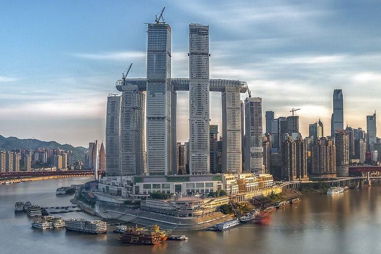 Arsitek Safdie Desain Raffles City Chongqing di China