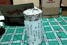 Tulisan Curhatan di Mercon Besar Sitaan dari 10 Pemuda di Blitar, Polisi: Dear Mantan...