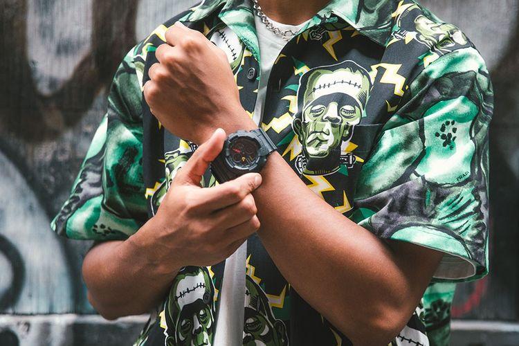 Salah satu dari empat seri terbaru jam tangan G-Shock hadir dengan mengambil insprasi dari film-film anime futuristik era 1980-an.
