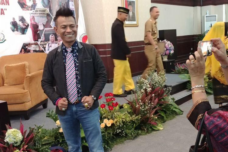 Dosen Hukum Pidana Universitas Sumatera Utara Mahmud Mulyadi usai menjadi moderator diskusi yang digelar Pusat Pelaporan dan Analisis Transaksi Keuangan, di Kantor PPATK, Jakarta, Selasa (19/12/2017).