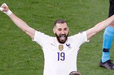 Bahagianya Benzema Usai Pecah Telur bareng Perancis di Euro 2020...