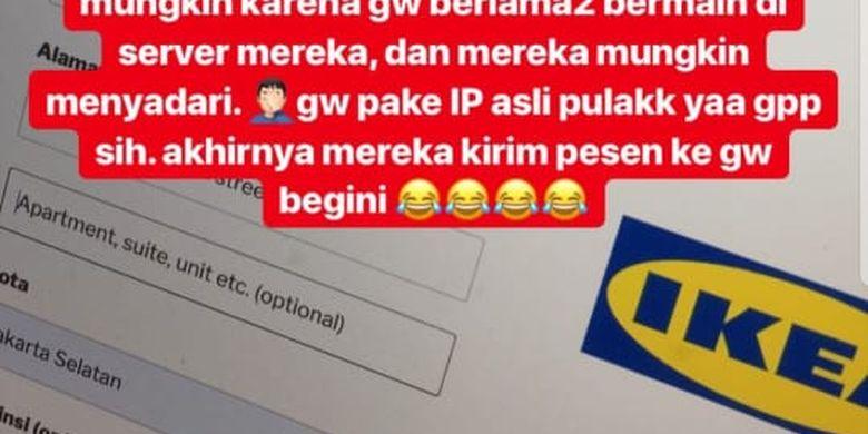 Beredar Iklan Penipuan Ikea Di Ig Stories Ini Kata Instagram