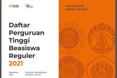 Daftar Perguruan Tinggi Dalam Negeri Tujuan Beasiswa LPDP Reguler 2021