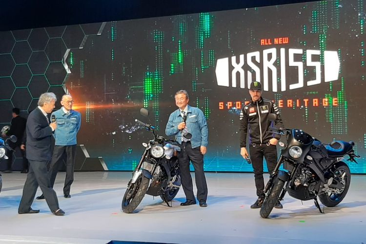 Yamaha Luncurkan XSR 155, Nmax, dan WR 155 R