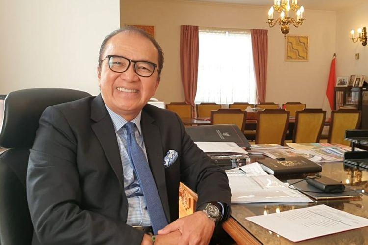 Tantowi Yahya, Ketua Panitia Penyelenggara PE 2021 yang juga adalah Dubes LBBP RI untuk Selandia Baru, Samoa, Kerajaan Tonga, Kepulauan Cook dan Nieu.
