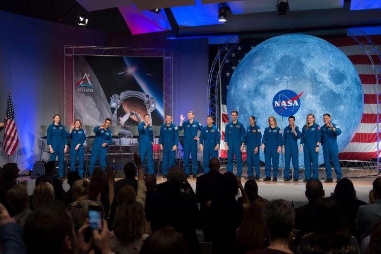 11 astronot baru NASA