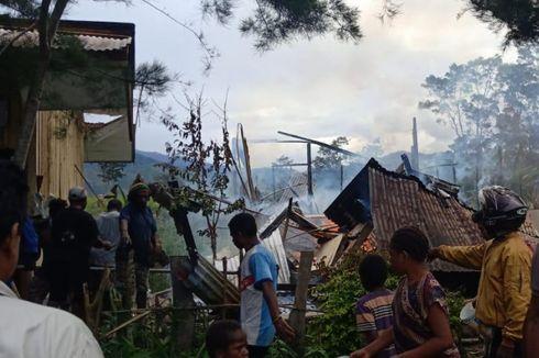 SD Inpres Ludes Terbakar di Jayawijaya Papua