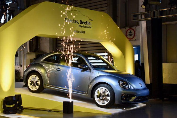 Edisi produksi terakhir dari VW Beetle