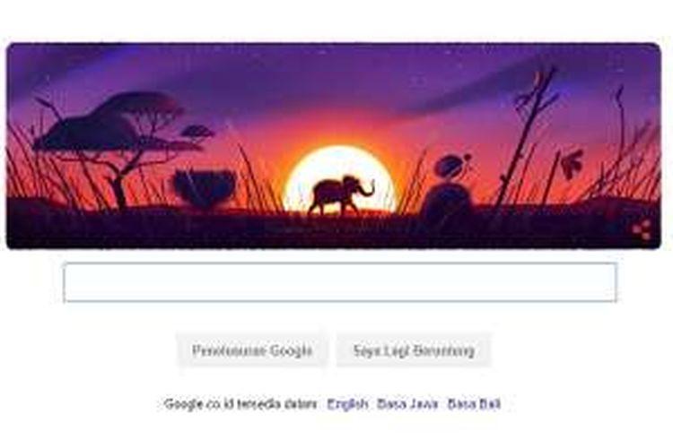 Google peringati Hari Bumi lewat 5 doodle