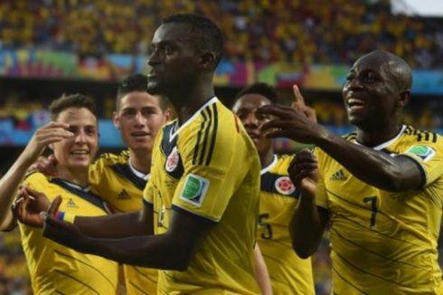 Kalahkan Jepang, Kolombia Lolos dengan Hasil Sempurna