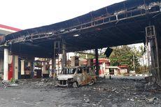 Pelat Nomor Palsu, Polisi Sulit Lacak Pengemudi Mobil Terbakar di Pom Bensin Cipayung
