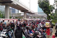 Protes Pernyataan Yasonna, Warga Tanjung Priok Demo di Depan Gedung Kemenkumham