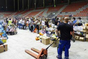 Sirkuit F1 di Jerman Disulap Jadi Pusat Logistik Bantuan Banjir